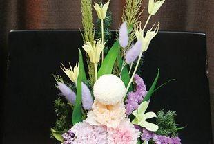 プリザで仏花を
