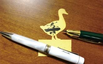 ボールペン万年筆