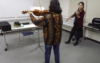 ヴァイオリン山田先生
