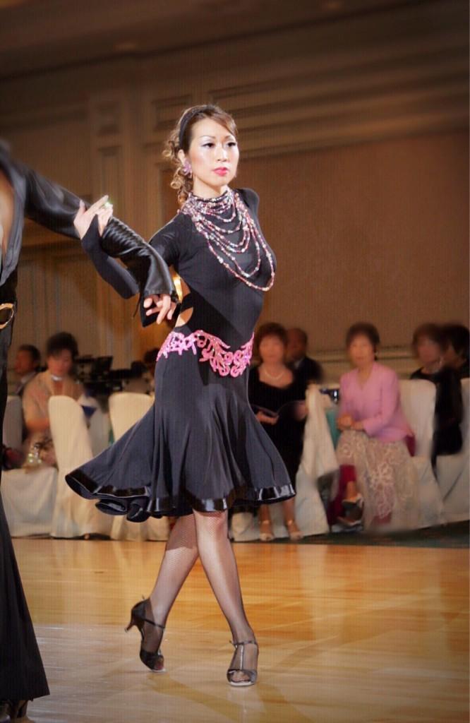 社交ダンス(鶴田美智子)