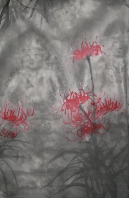 野仏と彼岸花 (417x640)